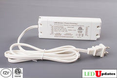 ETL Listed 12V 2.08A 25w Triac Dimmable Power Supply