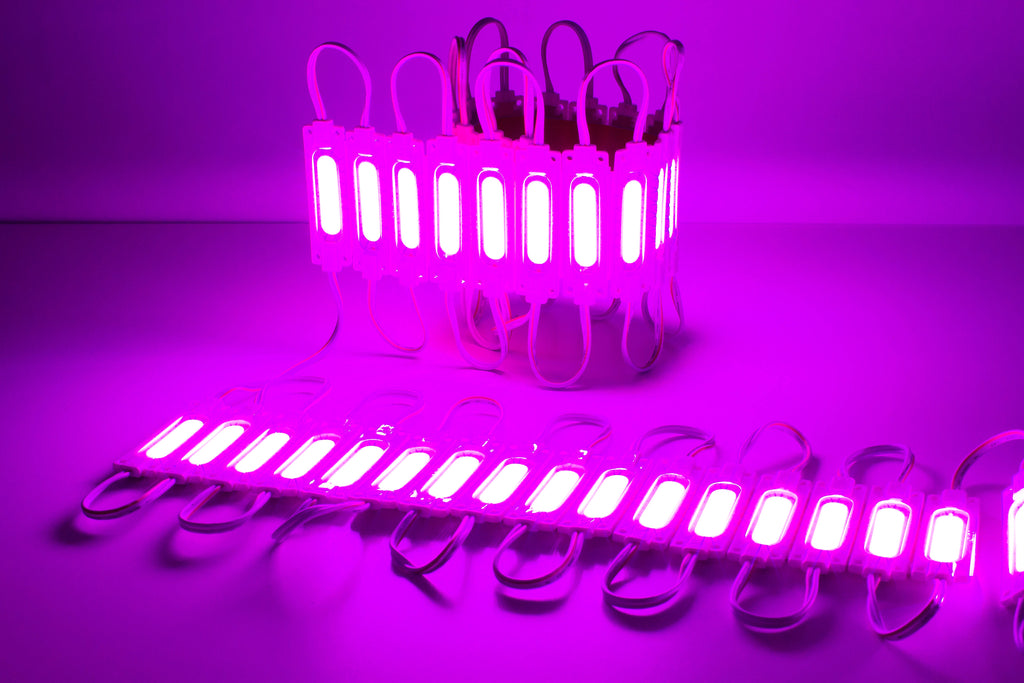 Pink Ultra COB series LED Light Modules