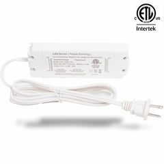 ETL Listed 12V 2.08A 25w Class 2 Triac Dimmable Power Supply