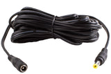 16ft DC Female to Male Heavy-Duty Extension 16 AWG cable with male & female DC plug