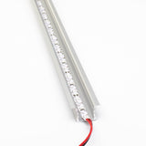24v 2216 Series CRI 90 6000k Natural white color LED strip light + Aluminum Channel
