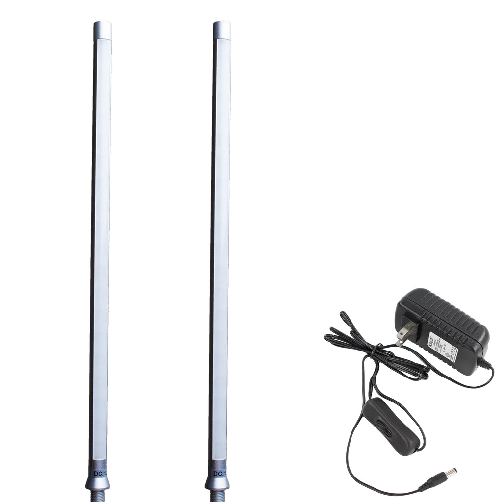 Jewelry Showcase LED Pole light Model FY-40 silver 6000k