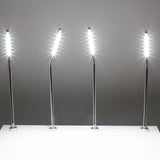 Jewelry Showcase LED Pole light Model FY-45 silver 6000k