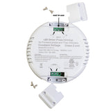 ETL Listed 12V 5A 60w Class 2 Triac Dimmable Round Shape Power Supply