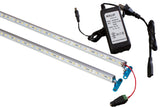"72 inches combo (36"" + 36"") V5630 LED light with UL Power supply for 6ft to 7ft showcase"