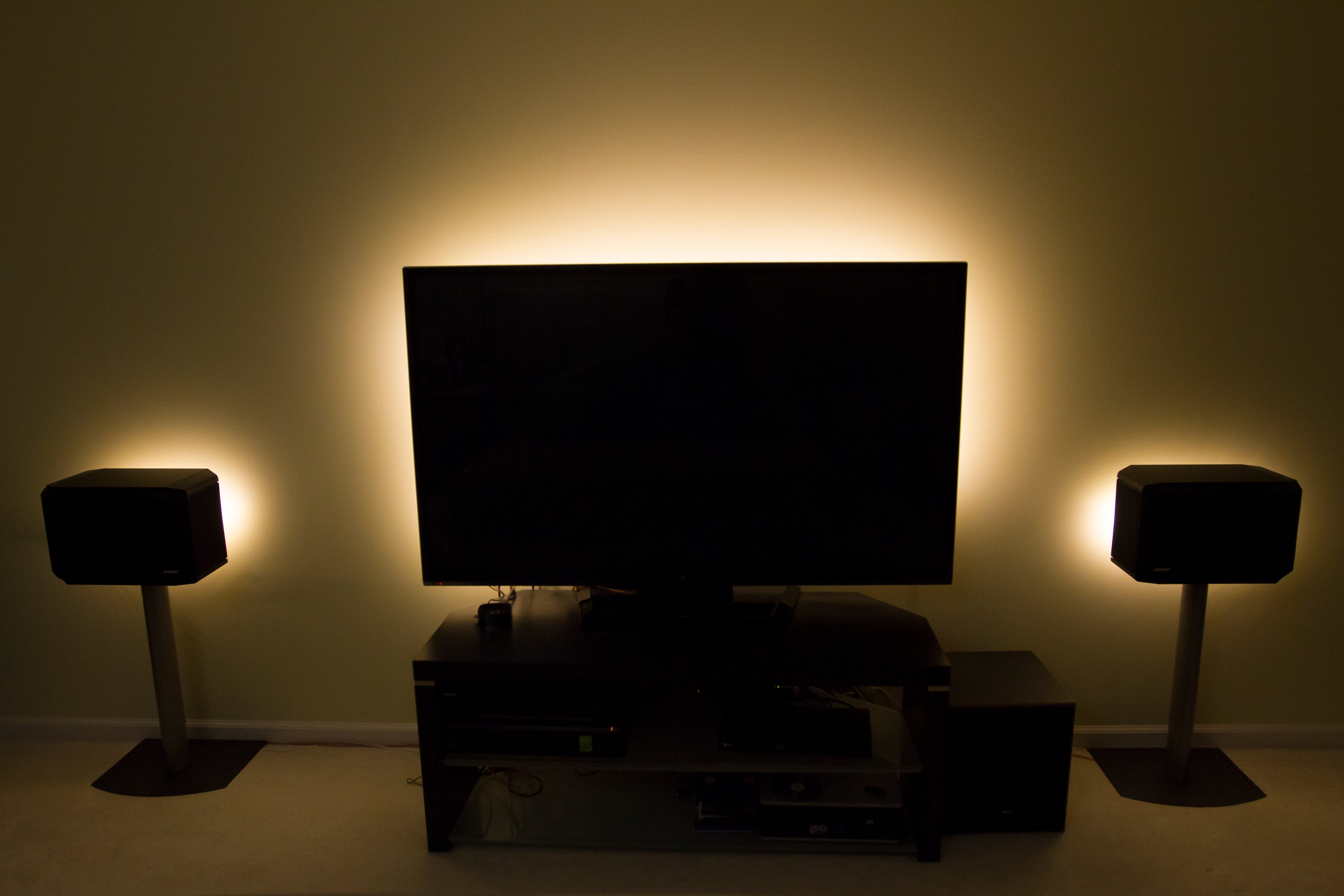 TV Backlight with wireless remote and UL Power Supply | LED Updates