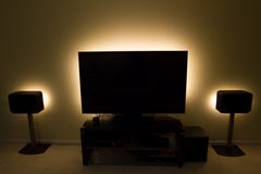 TV Backlight with wireless remote and UL Power Supply
