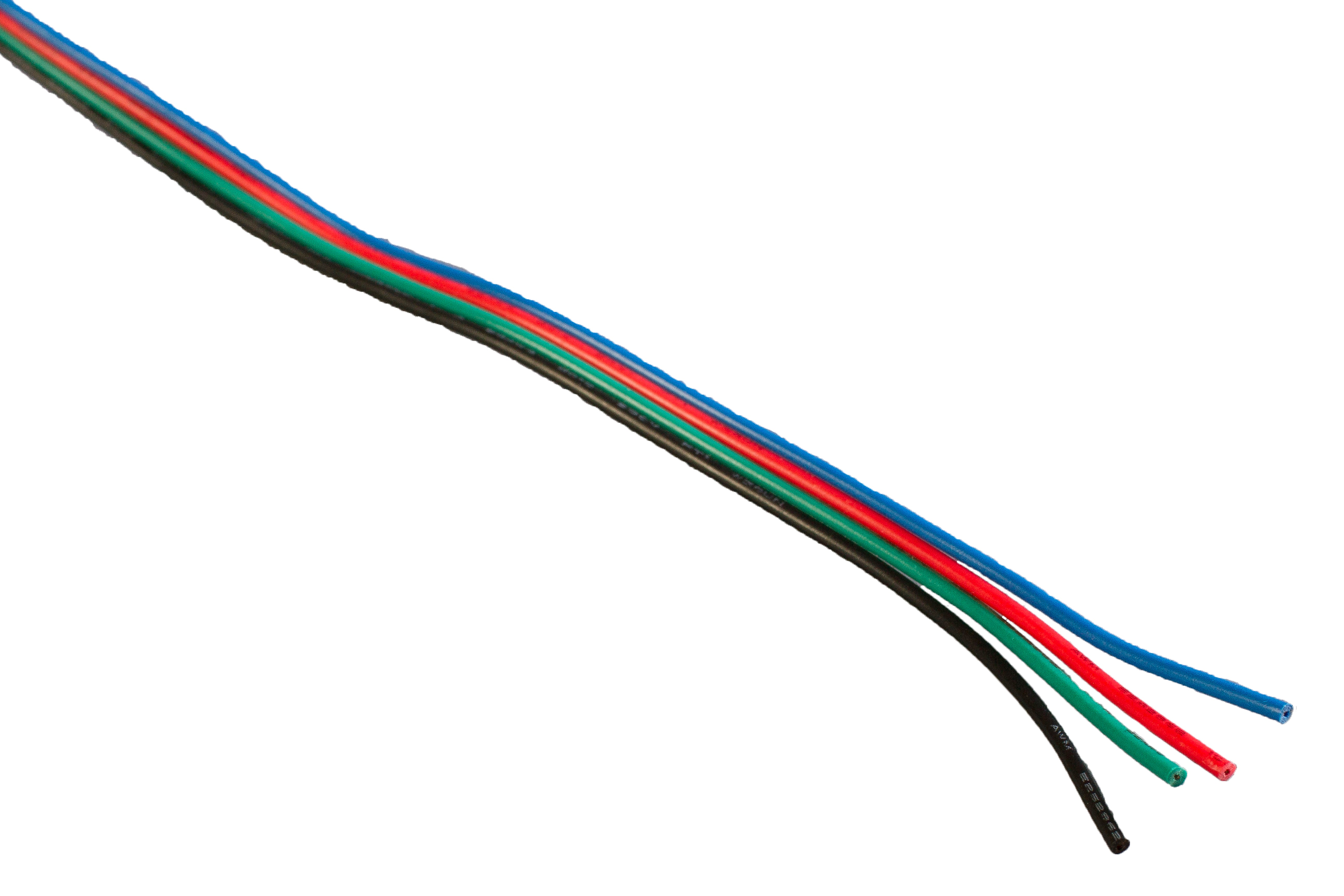 RGB LED light extension cable ( sold by per foot )