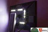 TV Background LED light with wireless remote and UL Power Supply - LED Updates