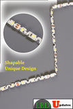12v S Shape 4000k Neutral white color 2835 LED strip light - LED Updates