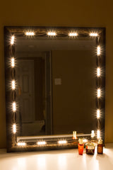 Makeup mirror Warm White LED light package premium series - LED Updates