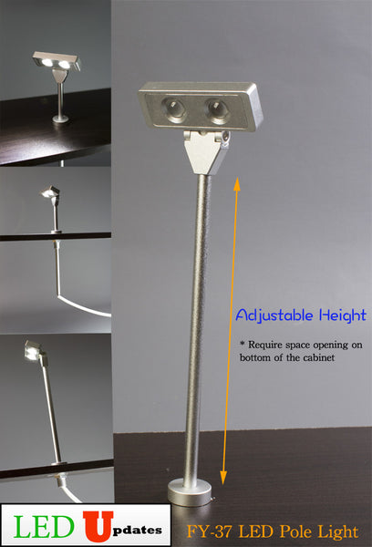 Jewelry Led Pole Light Model Fy 37 6000k Led Updates