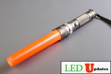 Safety Baton style LED Zoomable flashlight with Traffic Wand