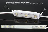 Storefront LED white track + White K2835 Super Bright LED Light (Samsung Chip ) - LED Updates