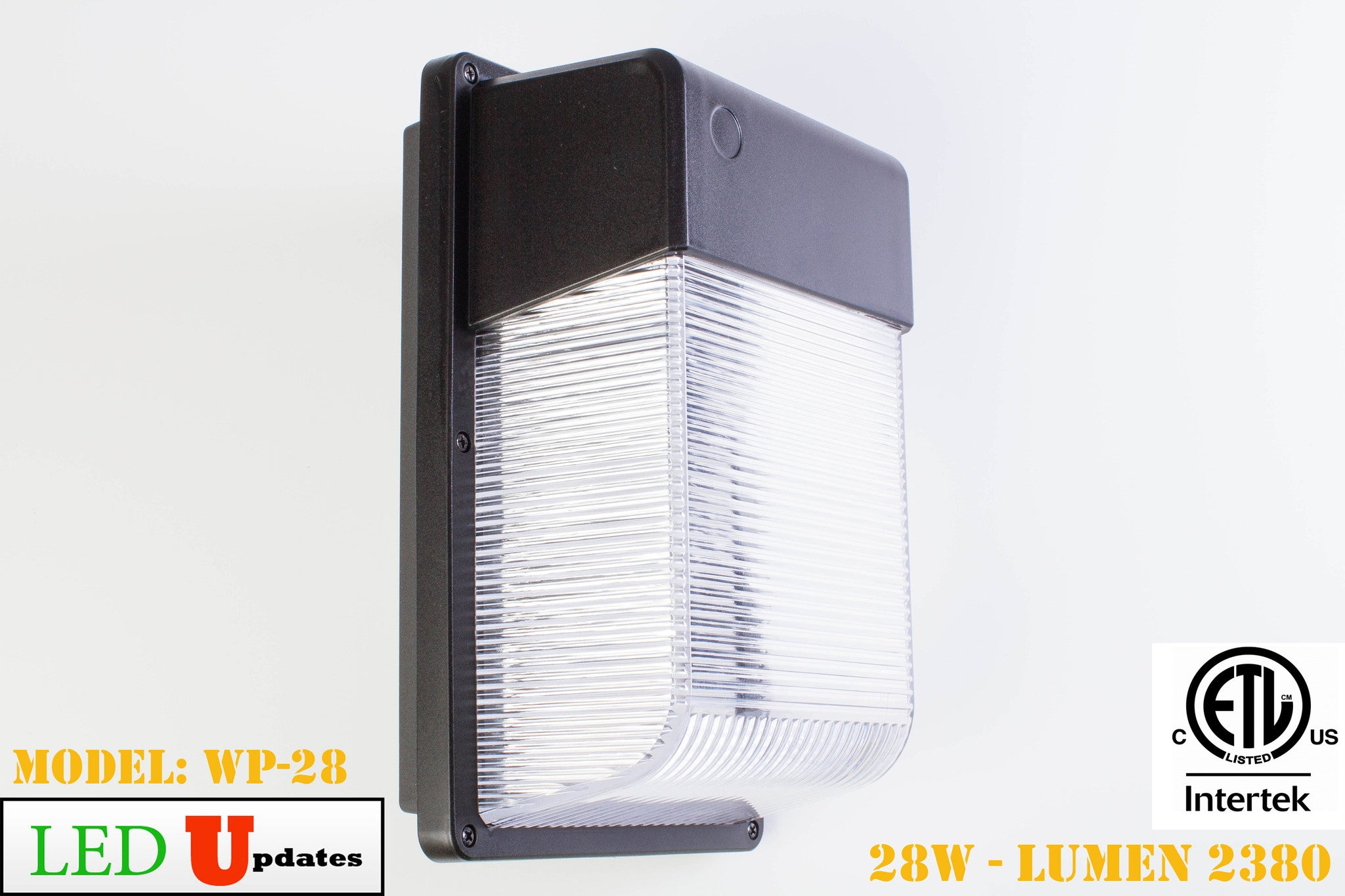 28W Bronze Outdoor Wall pack LED Security Light - LED Updates