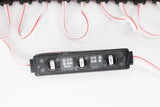 Storefront LED Black track + Red T2835 Premium Super Bright LED Light