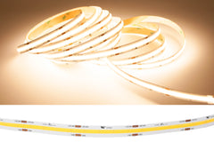 24v COB Series CRI 90+ 3000k Warm white color LED strip light