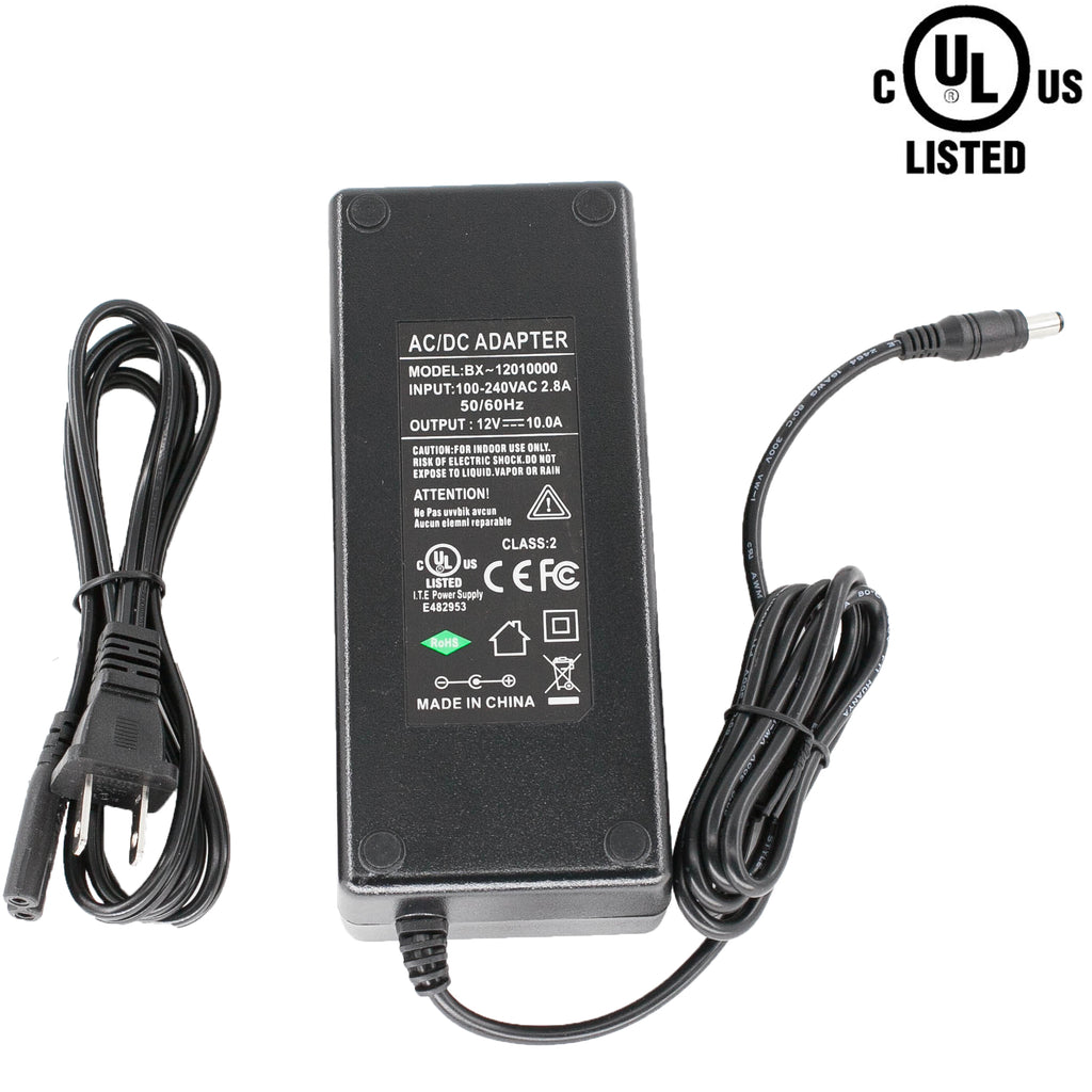 UL Listed 12v 10A 120w Power Supply