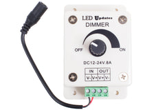 Single color LED light dimmer switch 8A