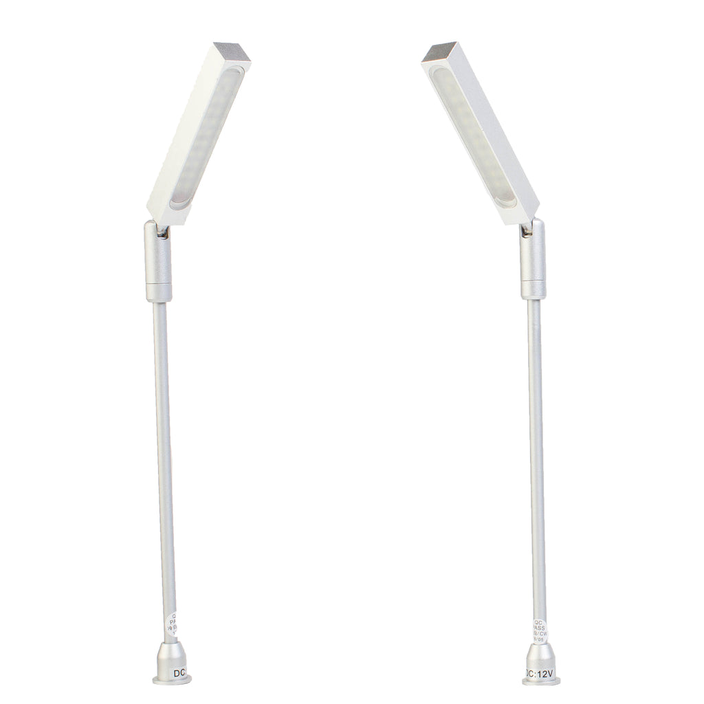 Jewelry Showcase LED Pole light Model FY-60 silver 6000k