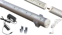 "47 inches (18"" + 28"" linked) White C3014 LED light with UL 2A power supply"