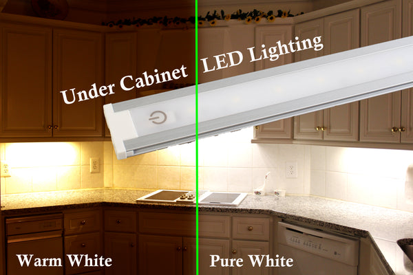 Touch switch LED light bar dimmable under cabinet 5W 30cm