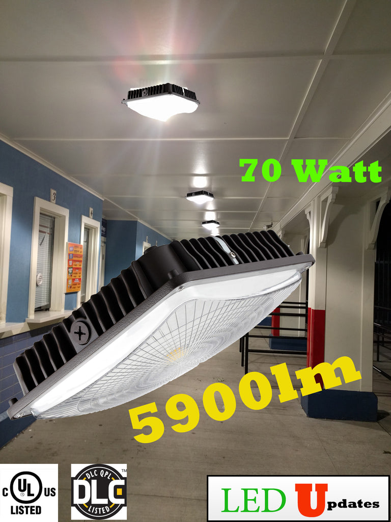 UL Listed 70W LED Canopy light suitable for indoor & Outdoor