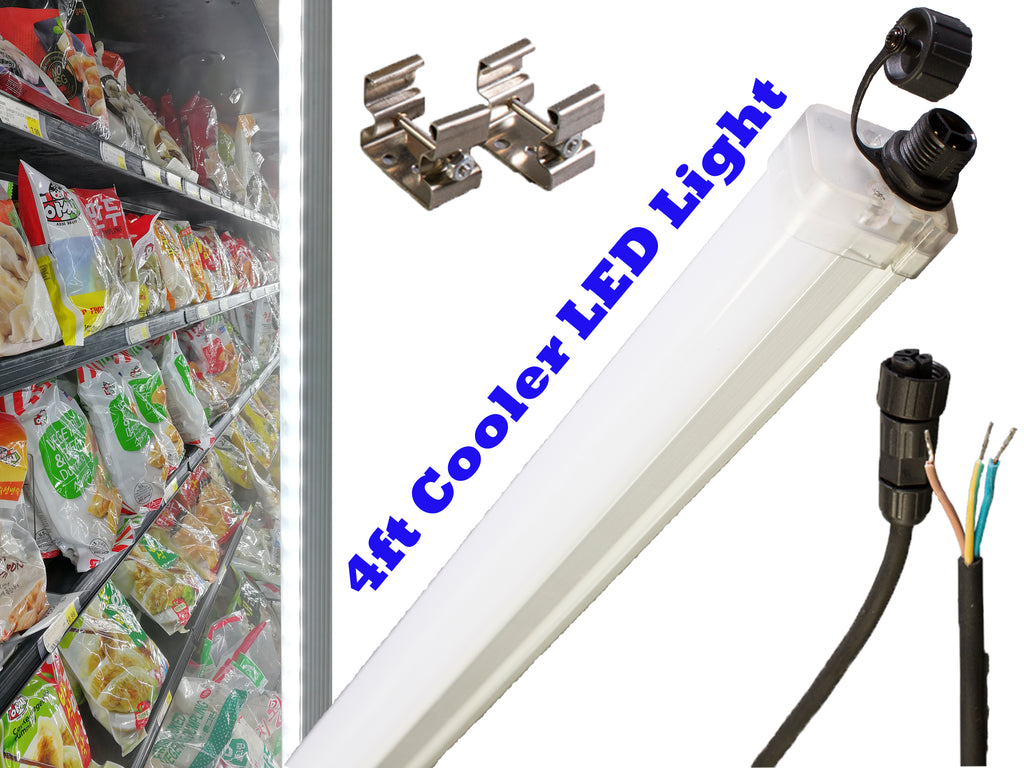 4ft Walk in cooler waterproof LED Tube Light TRI-1200