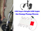 Sump Pump Room LED Light with Toggle on/off Switch