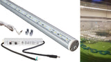 18 inches White C3014 Fridge LED light linkable with waterproof 3A power supply