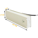 ETL listed 12v 7 Amp 84w Dimmable Power supply Driver Junction box built-in