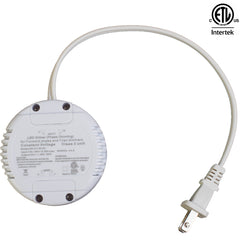 ETL Listed 24V 1.25A 30w Class 2 Triac Dimmable power supply round shape driver
