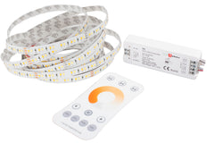 24v 3528 CCT Series 3000K to 6500K Adjustable warm white to Pure white LED strip light