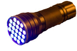UV Blue LED Flash Light