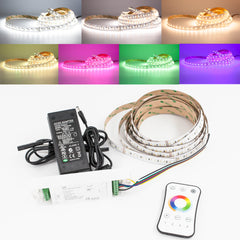 24v RGB + White + Warm White 5 in 1 Multi color change LED LIGHT