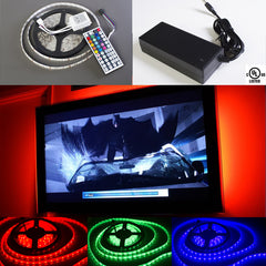 Multi color change TV background LED Light + remote
