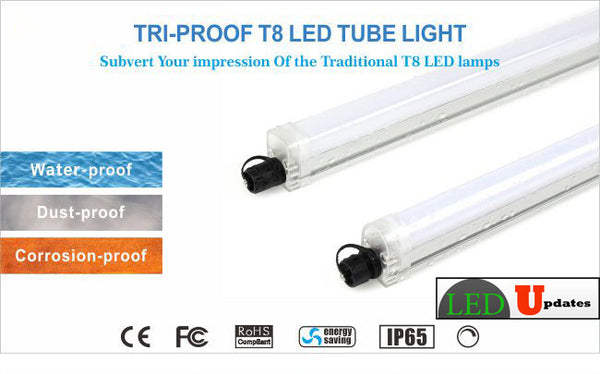 Waterproof Dust Proof Amp Corrosion Proof Tri Proof Led