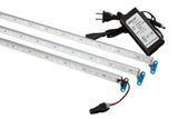 "82 inches combo (35"" + 35""+12"") V5630 LED light with UL Power supply for 7ft & 8ft showcase"