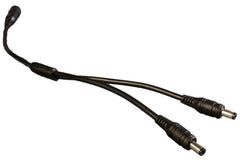 DC 18 AWG Heavy Duty Splitter Cable 1 to 2