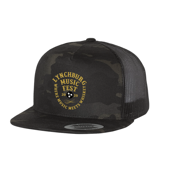 2020 Embroidered Stamp Camo Hat