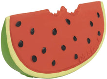 Load image into Gallery viewer, Oli & Carol Wally the Watermelon Teether & Bath Toy
