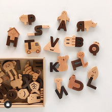 Load image into Gallery viewer, oioiooi wooden alphabet toys