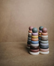 Load image into Gallery viewer, Mushie Stacking Rings Toy - Rustic