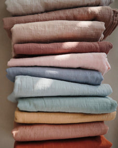 Organic Muslin Swaddle - Rainbows