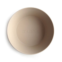 Load image into Gallery viewer, Mushie Round Bowls Set - Vanilla