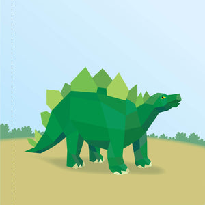 Paint by Stickers Kids - Dinosaurs