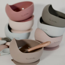 Load image into Gallery viewer, Foxx & Willow Bowl & Spoon - Dusty Rose