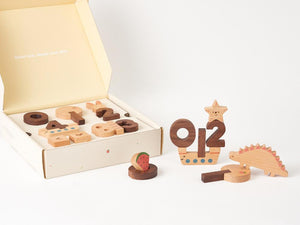 Ultimate Wooden Numbers Set