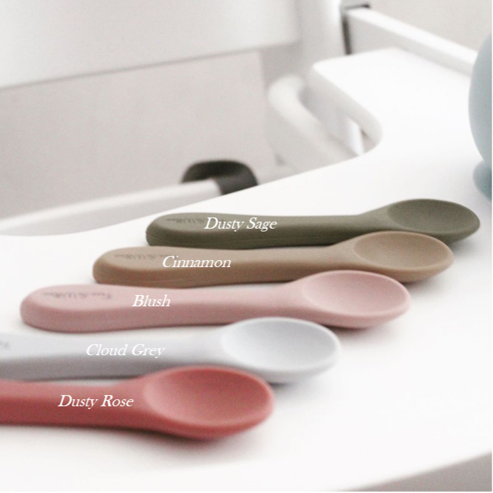 All Silicone Spoon - Dusty Rose