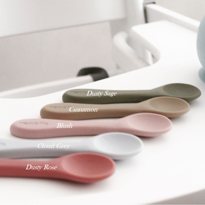 All Silicone Spoon - Cinnamon